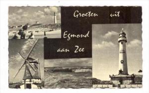 LIGHTHOUSE   Groeten uit Egmond aan Zee , Netherlands, PU-1961