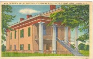 Old Court House, Camden, South Carolina, PU-1951