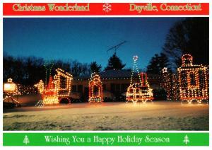 Connecticut , Dayville , Whipple's Christmas Wonderland ,  Train of Lights