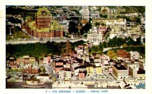 Canada - Quebec, Quebec City. Aerial View