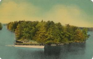 1000 ISLANDS , Ontario, Canada, 1950-60s ; Cruise Boat