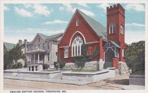 Maryland Frostburg English Baptist Church