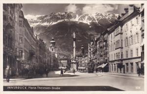 INNSBRUCK , Austria , 00-10s ; Maria-Theresien Strasse