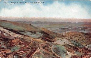 H52/ Bull Hill Colorado Postcard c1910  Sangre de Christo Mountains 62