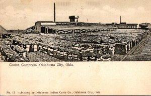 Oklahoma Oklahoma City Cotton Compress 1908
