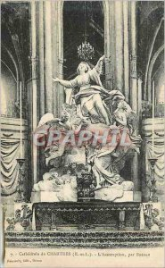 Postcard Old Cathedral of Chartres (E and L) The Assamptiion by Bredan