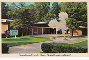 Virginia Spotsylvania County Chancellorsville Visitor Center Chancellorsville...