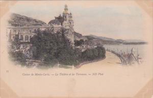 Monaco Monte Carlo La Casino Le Theatre et les Terrasses