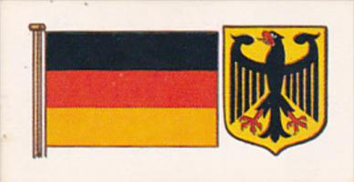 Vintage Trade Card Brooke Bond Tea Flags and Emblems Of The World No 36 Germany