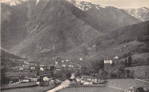 France Vue generale de Saint Etienne de Baigorry (Basses Pyrenees)