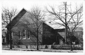 Cedartown Georgia First Methodist Church Real Photo Antique Postcard K11116