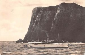 Norway Old Vintage Antique Post Card Nordkapp 1936 Real Photo