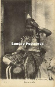 morocco, Young Arab Girl, Costumes (1919)
