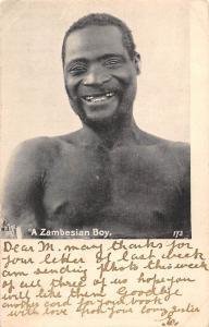 Rhodesia, Zambia, A Zambesian Boy