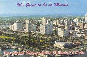 Florida Miami Skyline The Miami Memorabilia Collector's Club