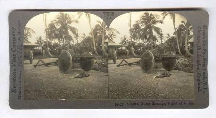 SV: Mission Home Grounds, Island of Guam, 1910s