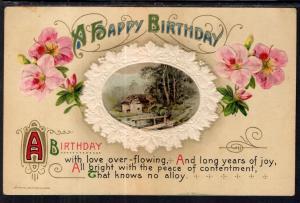 A Happy Birthday Flowers Scene Winsch