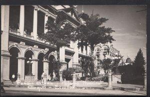Ecuador Postcard - Parque Suere i Palacio Municipal Gquil  A9618