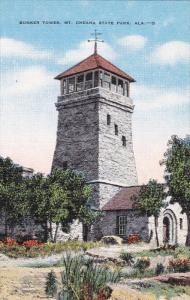 Bunker Tower, Mt. Cheaha State Park, Alabama, 1930-1940s