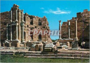 Postcard Modern Leptis Magna (Libya) The Great Nymphaeum