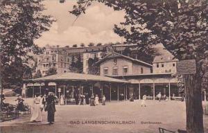 Germany Bad Langenschwalbach Stahlbrunnen