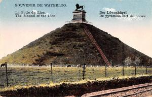 Waterloo Belgium, Belgique, Belgie, Belgien La Butte du Lion Waterloo La Butt...