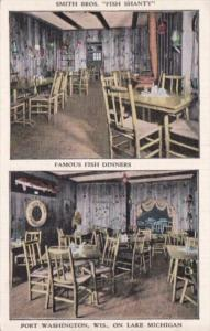 Wisconsin Port Washington Smith Brothers Fish Shanty Restaurant 1941