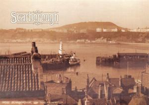 NEW Vintage Repro Scarborough Postcard South Bay Harbour & Spa at Low Tide SC3