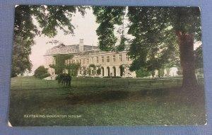 Vintage  Postcard Boughton House Kettering H1D