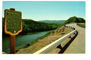 Overland Telegraph Sign, Highway 16, British Columbia