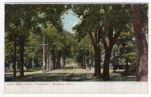 Brockton, Mass, Main Street, Campello