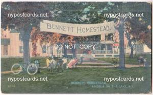 Bennett Homestead, Angola NY