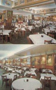 BALTIMORE , Maryland , 50-60s ; Haussner's Restaurant , Interior