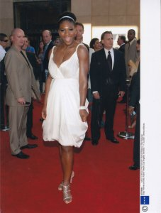 Serena Williams On Red Carpet 2007 ESPY Sports Awards USA Tennis Press Photo