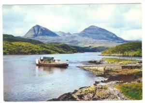 Kylesku Ferry and Quinag , Sutherland , Scotland , 50-70s