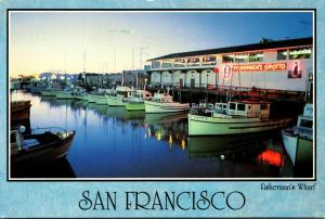 California San Francisco Fisherman's Wharf 1997