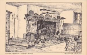 Delaware New Castle Kitchen Fireplace Amstel House