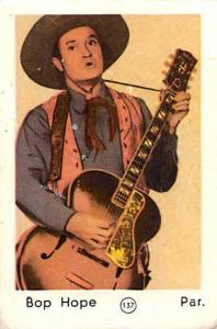Movie Star Bop Hope Par. actor singer guitar music