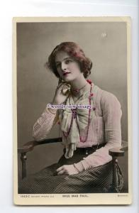 b5866 - Stage Actress - Mab Paul, No.1543 C - postcard