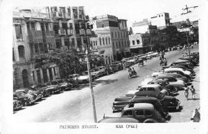 Karachi Pakistan Princess Street Real Photo Vintage Postcard JC932606