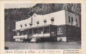 Hotel Pointe a Mine , St. Jacques des Piles , Co. Laviolette , Quebec , Canad...