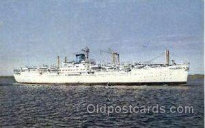 M.V. Seven Seas, Europe-Canada Line Steamer Ship Unused