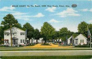 MS, Biloxi, Mississippi, Delux Court, E.C. Kropp 26002N