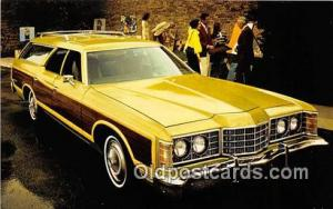 Postcard Post Card 1973 Ford LTD Country Squire Station Wagon