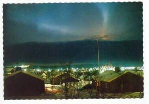 Kiruna. Northern Lights,  60s