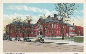 Pennsylvania Berwick High School Curteich