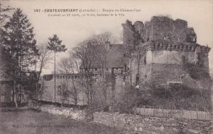 CHATEAUBRIANT, Loire Atlantique, France, 1900-1910's; Donjon du Chateau Fort
