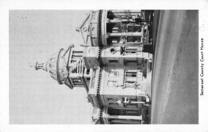 Somerset Pennsylvania Court House Street View Antique Postcard K40128
