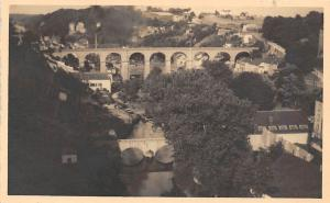 Luxembourg Pont Adolphe Bridge General view River Panorama
