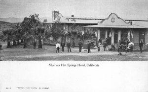 MURRIETA HOT SPRINGS HOTEL Riverside County, California ca 1907 Vintage Postcard